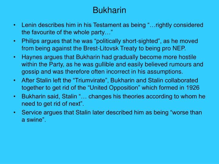 Bukharin