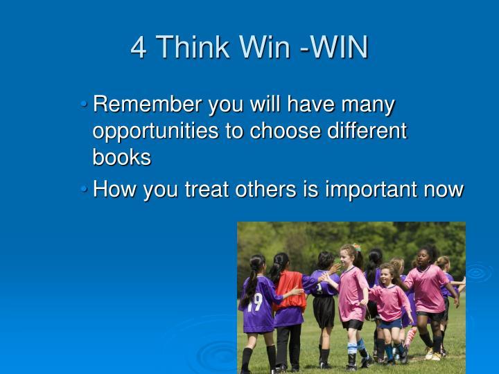4 Think Win -WIN