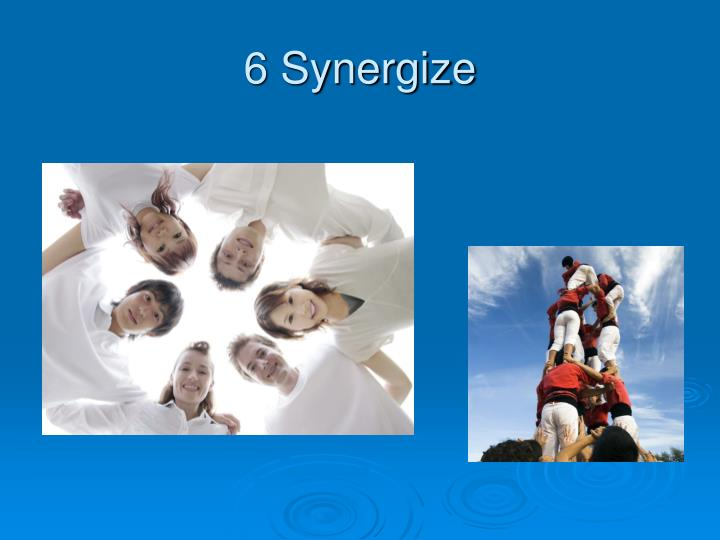 6 Synergize