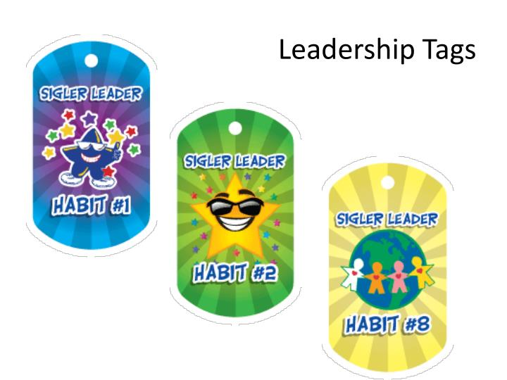 Leadership Tags