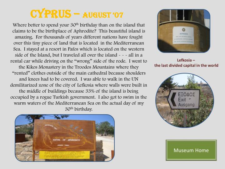 Cyprus –