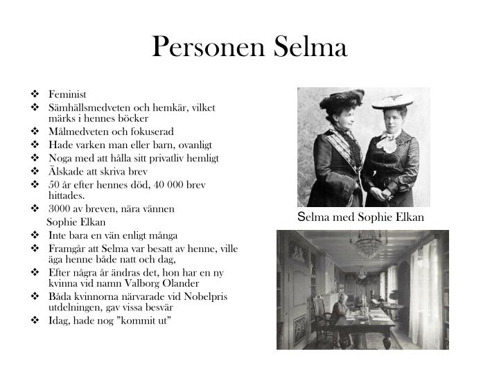 Personen Selma