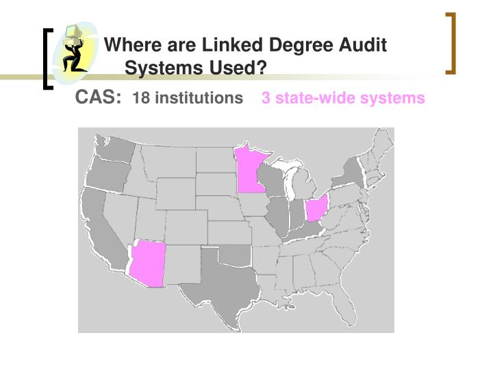 Where are Linked Degree Audit