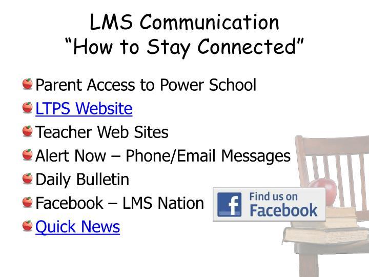 LMS Communication