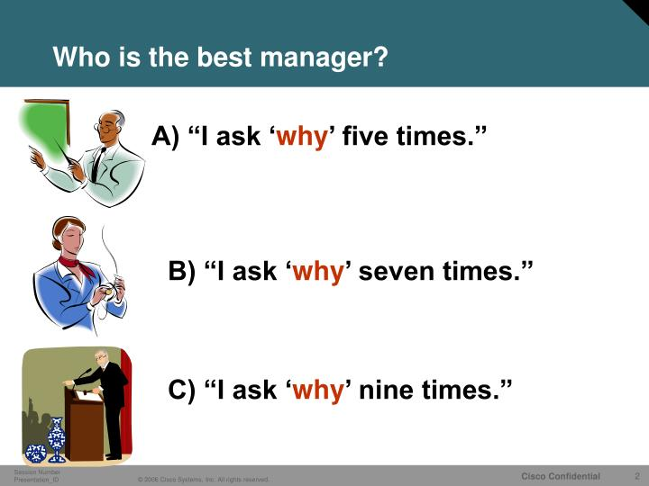 Who is the best manager