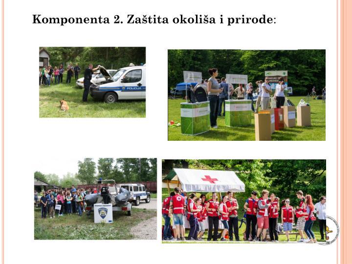 Komponenta 2. Zaštita okoliša i prirode