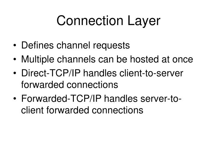 Connection Layer