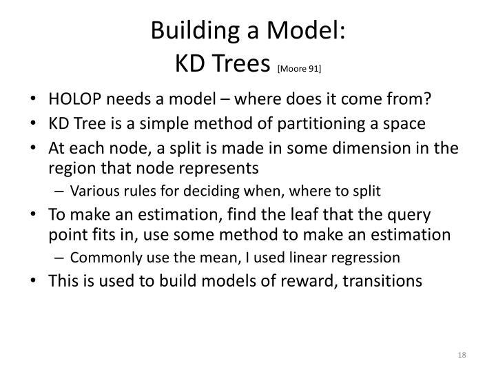 Building a Model: