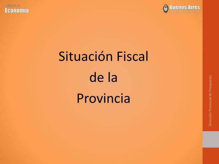 Dirección Provincial de Prespuesto