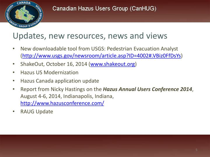 Updates, new resources, news and views