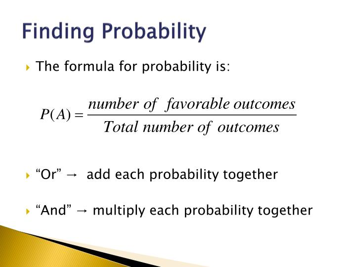Finding Probability