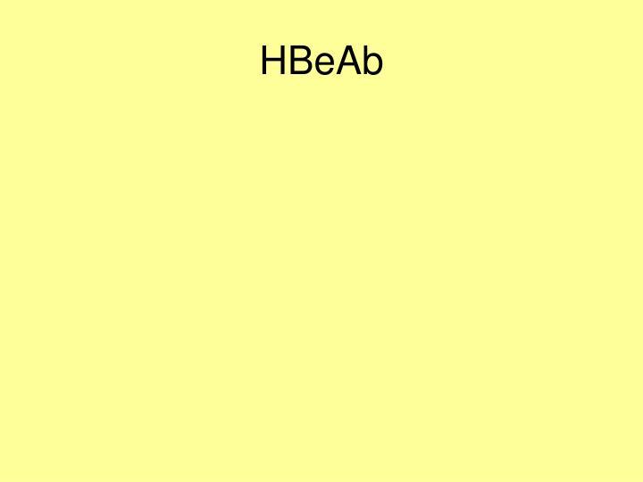HBeAb