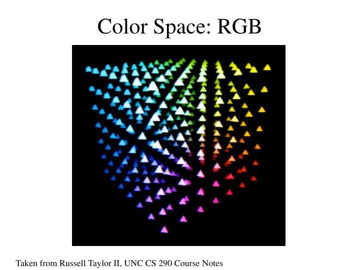 Color Space: RGB