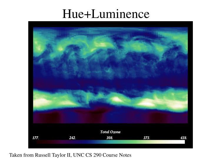 Hue+Luminence