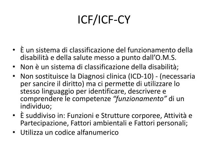 ICF/ICF-CY