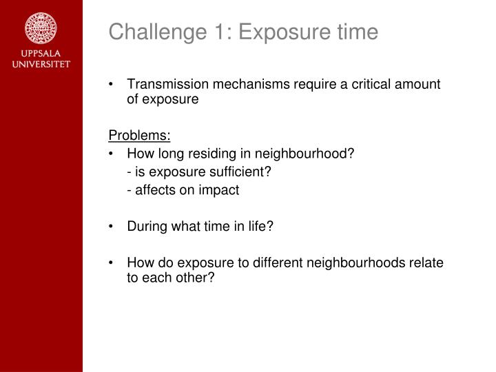 Challenge 1: Exposure time