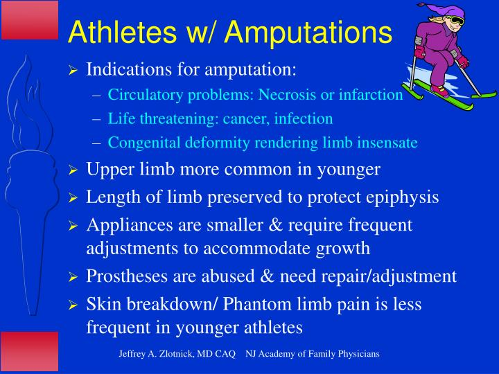 Athletes w/ Amputations