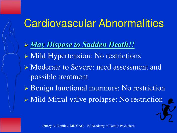 Cardiovascular Abnormalities
