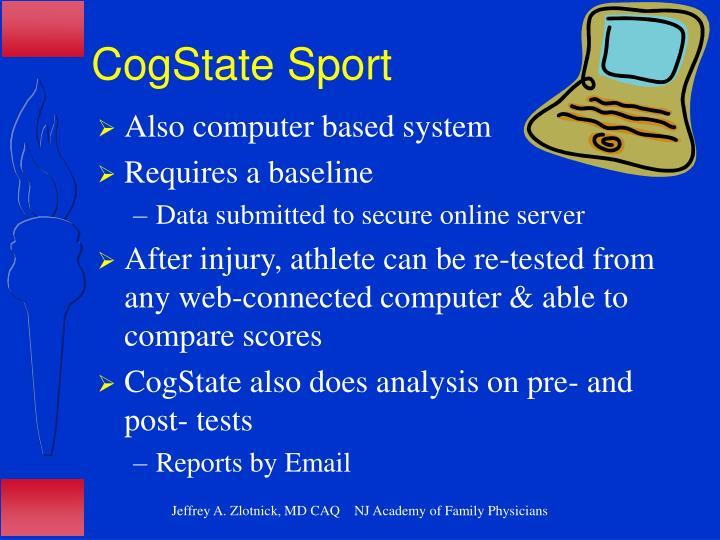CogState Sport