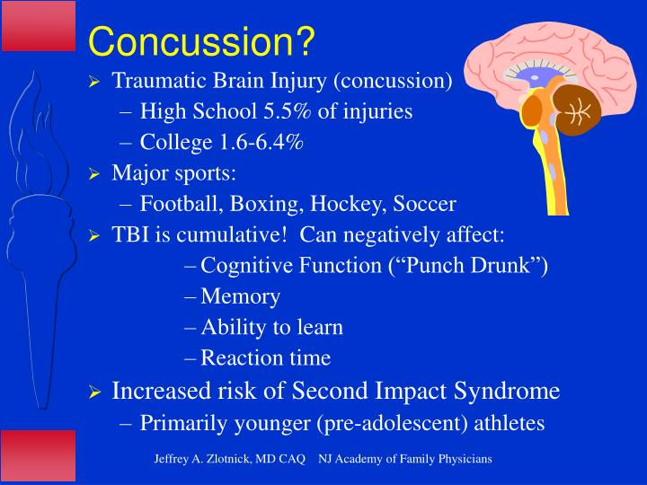 Concussion?