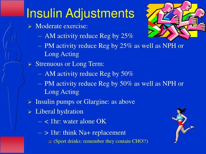 Insulin Adjustments