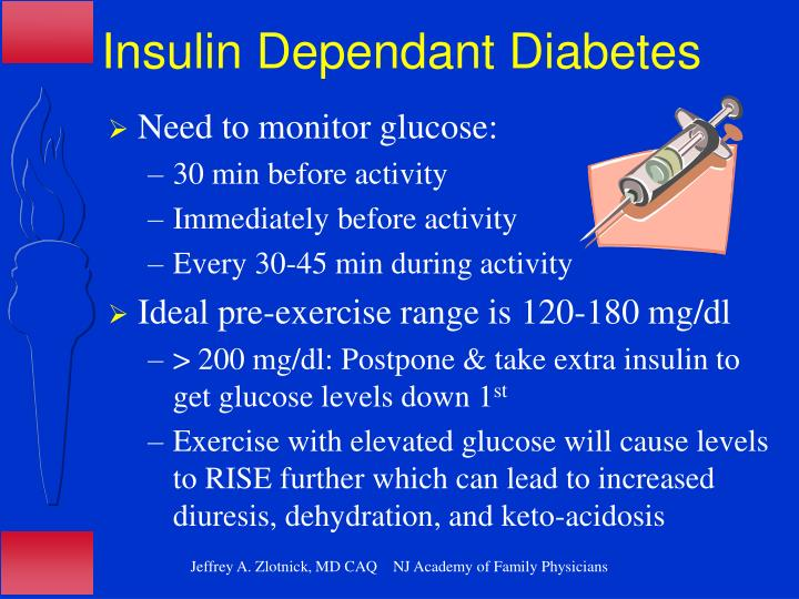 Insulin Dependant Diabetes