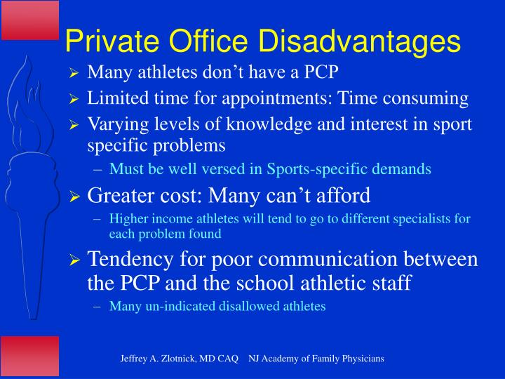 Private Office Disadvantages