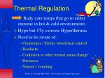 thermal regulation1