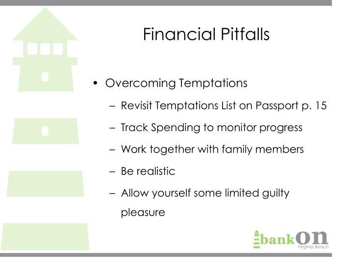 Financial Pitfalls