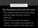 the characteristics of an archetypal tragic hero4