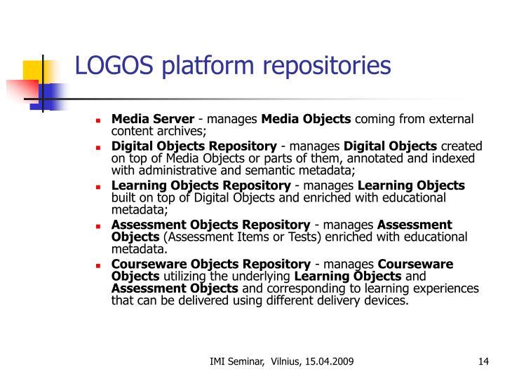 LOGOS platform repositories