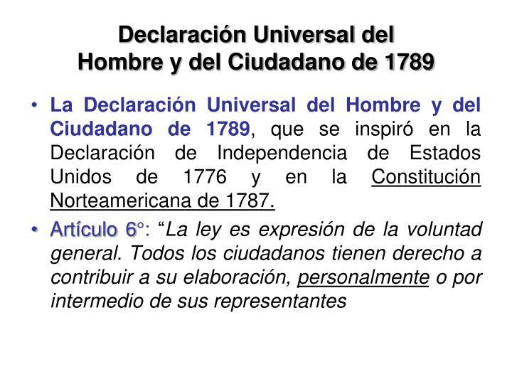Declaración Universal del