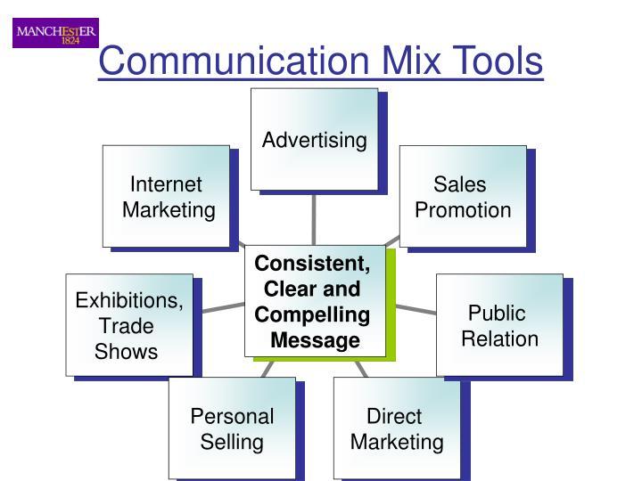 Communication Mix Tools
