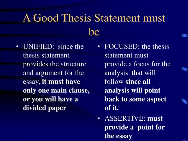 A Thesis Statement Must Make A Claim That Apex 02 07 2014 Owners Turned ...