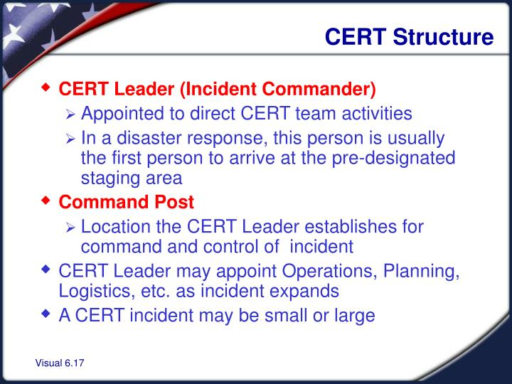 CERT Structure