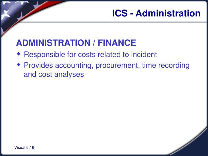 ICS - Administration