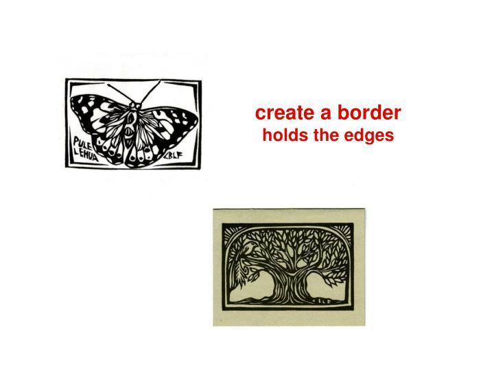 create a border