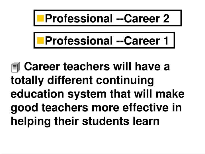 Professional --Career 2