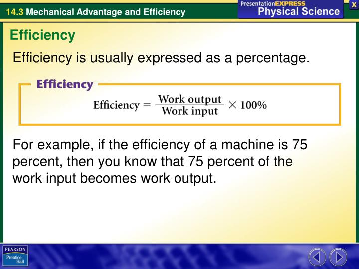 the actual mechanical advantage of a machine