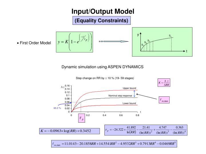 Input/Output Model