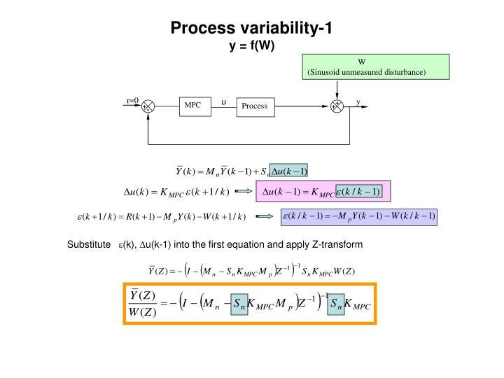 Process variability