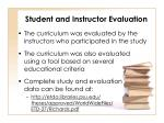 student and instructor evaluation1