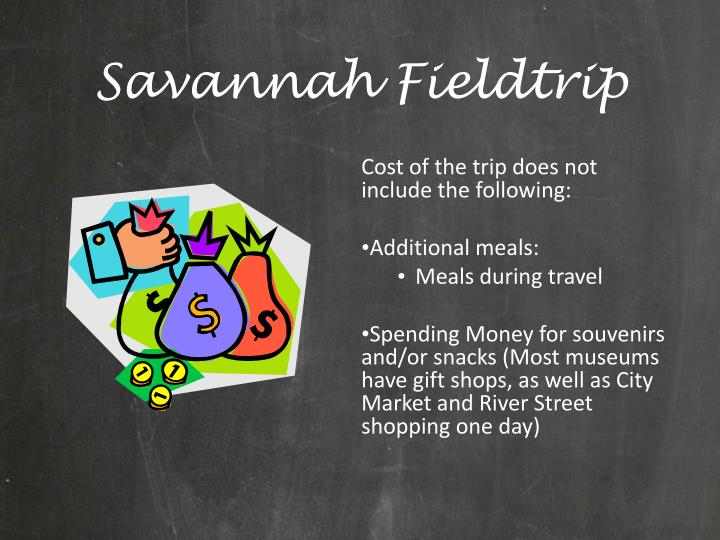 Savannah Fieldtrip