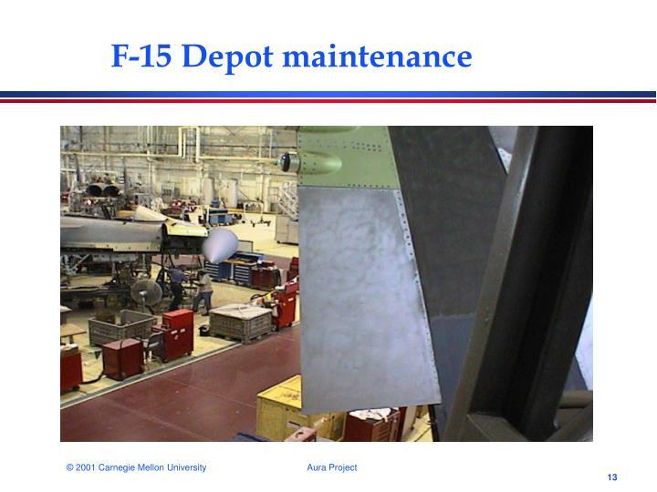 F-15 Depot maintenance