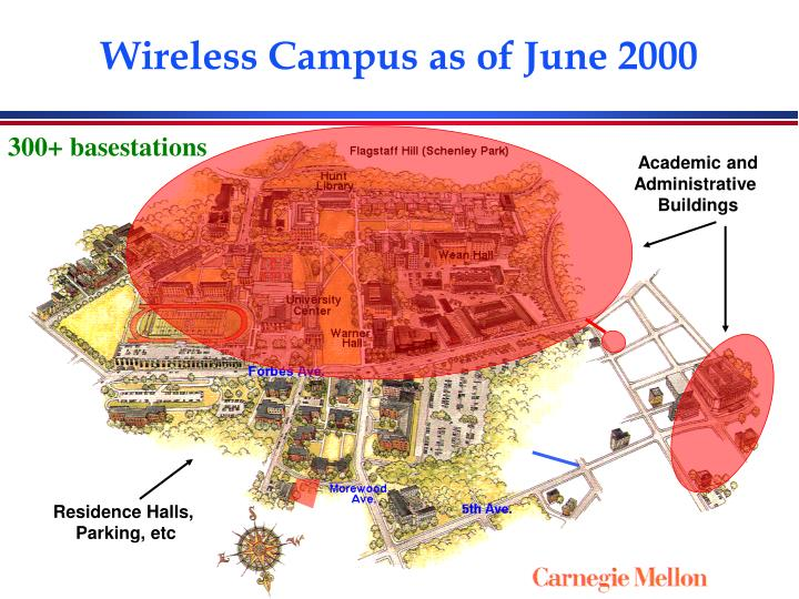 Wireless Campus as of June 2000
