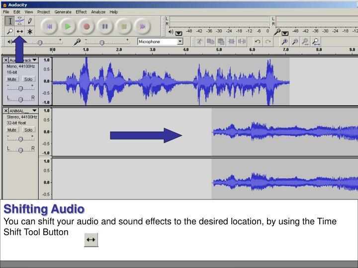 Shifting Audio