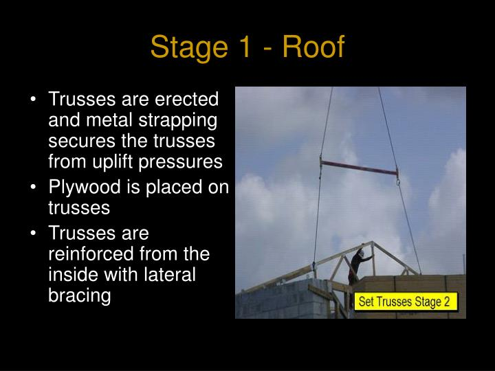 Stage 1 - Roof
