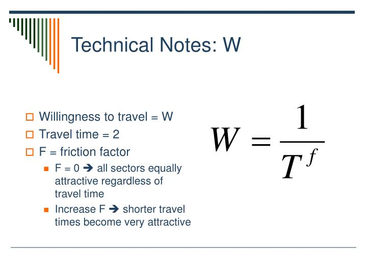 Technical Notes: W
