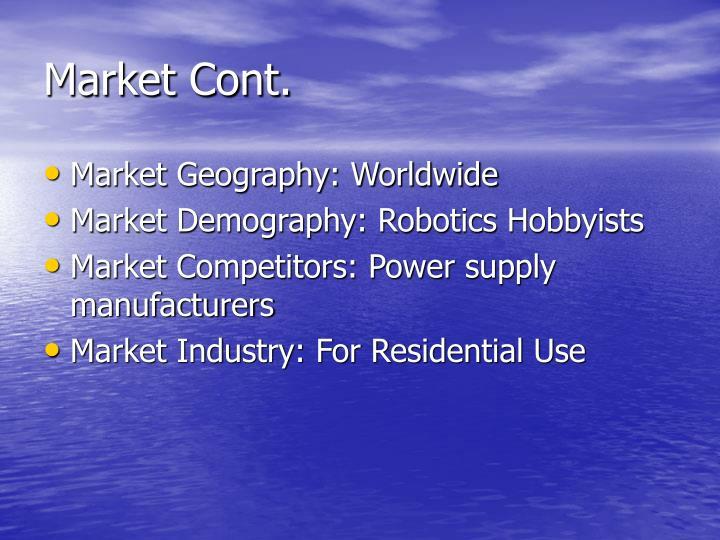 Market Cont.
