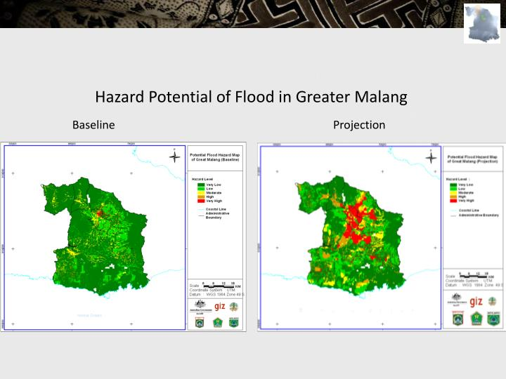 Hazard Potential of Flood in Greater Malang